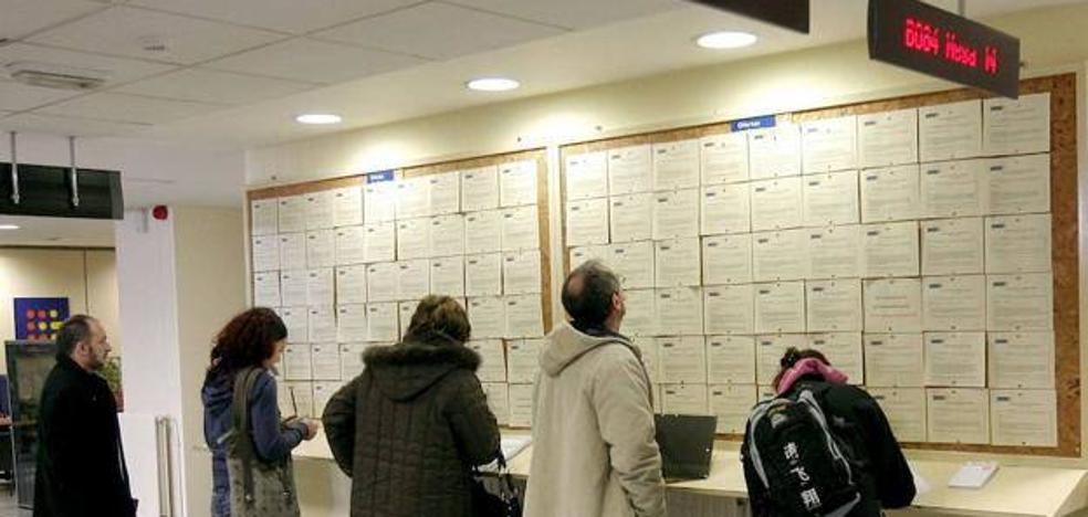 El paro inicia el año con una subida de 2.955 personas en Asturias, lastrado por el sector Servicios