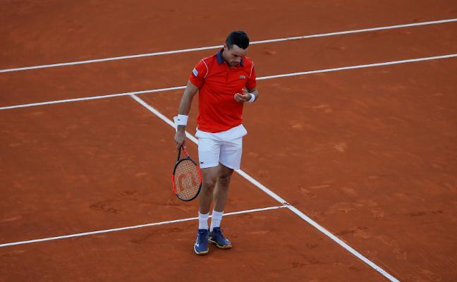 España y Gran Bretaña igualan a la espera de la entrada de Carreño en dobles