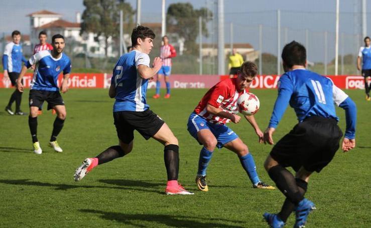 Las imágenes del Sporting B - Peña Sport