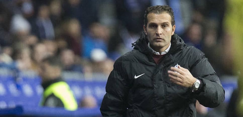 Baraja: «No tenemos jugadores con el poso físico para jugar de tú a tú al Oviedo»