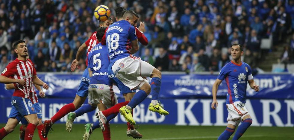 El Oviedo se lleva el derbi (2-1)