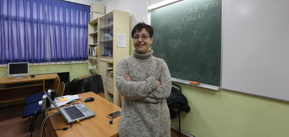 Mónica Alonso charla de mujeres científicas