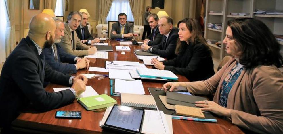 Temporal en Asturias: El Ministerio de Fomento constituye un gabinete de crisis