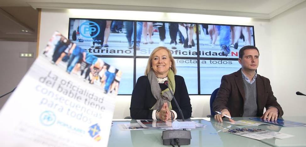 El PP advierte de que la oficialidad del asturiano «será una invasión de la vida de las familias»