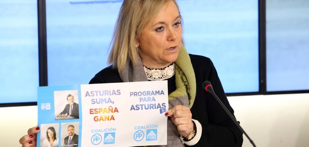 El PP critica que Moriyón se haya alineado con la «izquierda más radical» por el asturiano