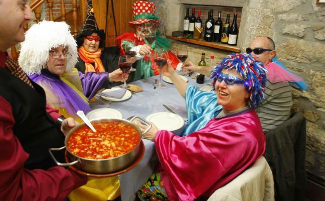 El sabor del Carnaval en Asturias