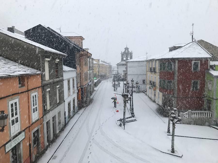 El Occidente de Asturias, bajo la nieve