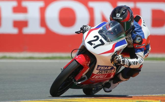 La carrera de Álex Díez hacia el Mundial de Moto3