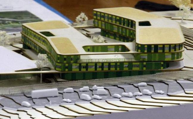 La construcción del IES de La Corredoria empezará a «finales de 2019»