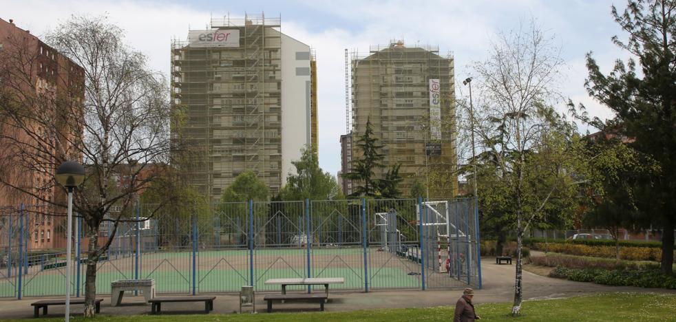 Gijón prevé destinar 12 millones este año para paliar el atasco de las fachadas