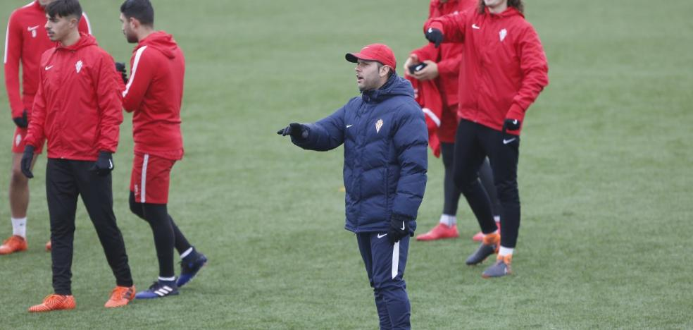 El Sporting B aspira a afianzarse ante un renovado Izarra