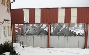 Los vecinos de Felechosa urgen más seguridad tras el derrumbe del polideportivo