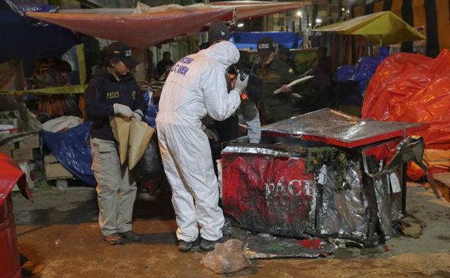 Al menos seis muertos, cuatro de ellos niños, por una explosión en un carnaval de Bolivia