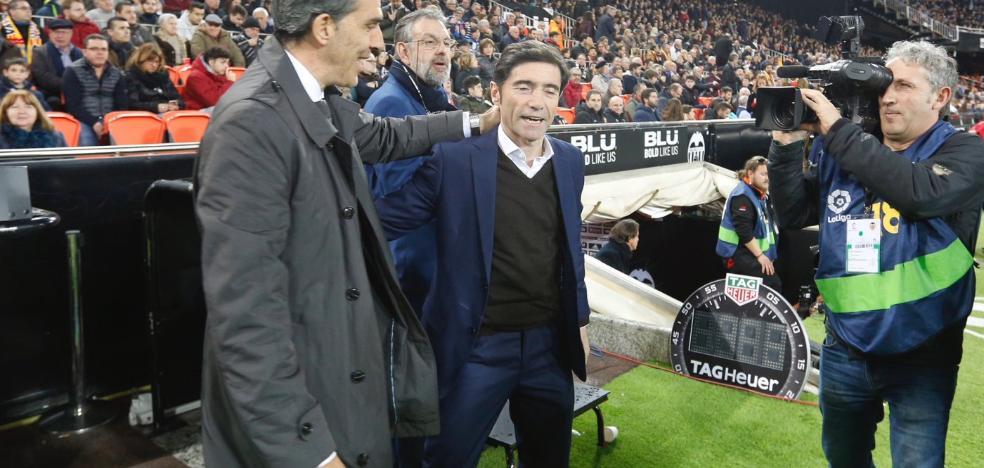 Marcelino le gana el derbi a José Ramón López Muñiz