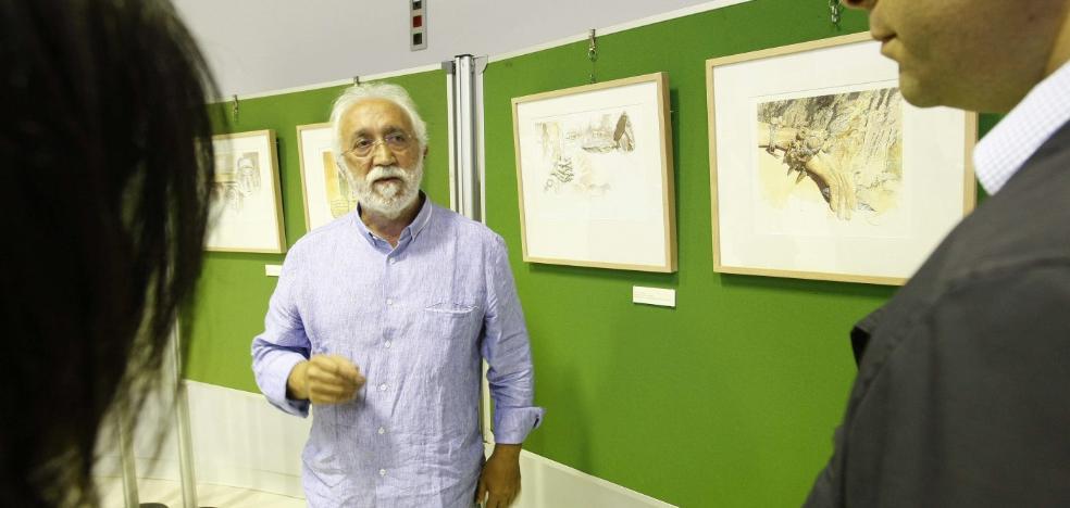 Fernando Fueyo pinta el turismo en Castrillón