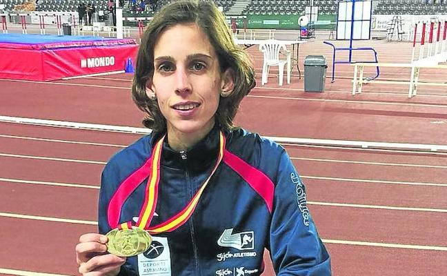 Paula González renueva el título nacional en 3.000