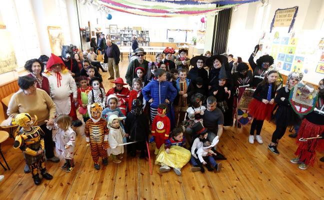 Carnaval mágico en La Corredoria y Bueño