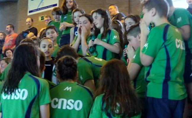 Los pequeños suman otra victoria en los Juegos Escolares