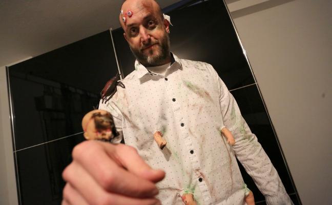 Carnaval de Gijón | David Alonso, un edil contaminado en Antroxu