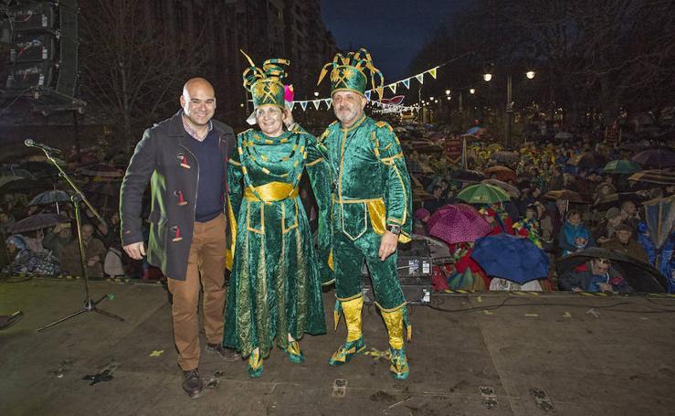 Último desfile charanguero y entrega de premios en Gijón