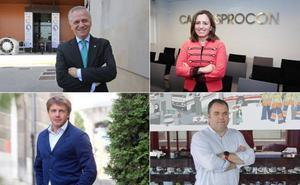 Guillermo Ulacia, María Calvo, Carlos Paniceres y José Luis Álvarez Almeida, vicepresidentes de Fade