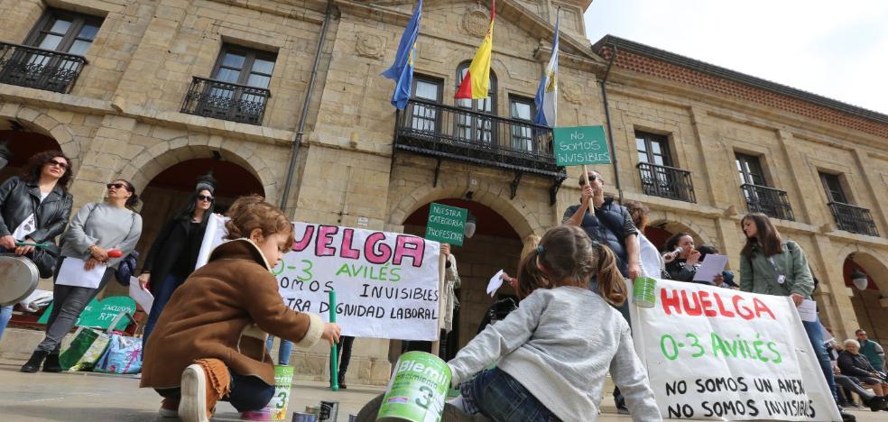 Los sindicatos piden «diálogo y sensatez» para subir el salario de las educadoras