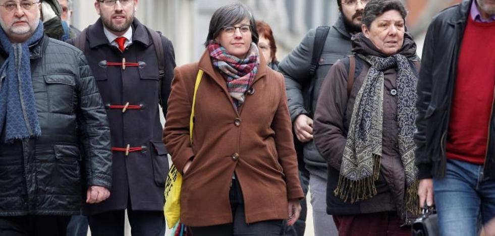Mireia Boya defiende en el Supremo que la declaración de independencia fue «real»