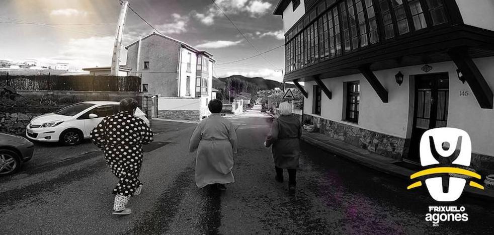 El simpático vídeo para promocionar la Carrera del Frixuelo de Agones, en Pravia