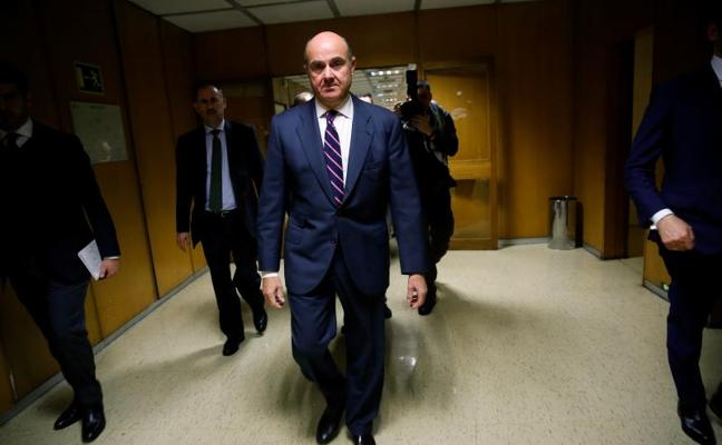 De Guindos y Lane tienen la primera cita en la Eurocámara para defender su candidatura al BCE