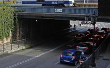 Fomento trabaja en el proyecto de ampliación del puente de Nicolás Soria de Oviedo