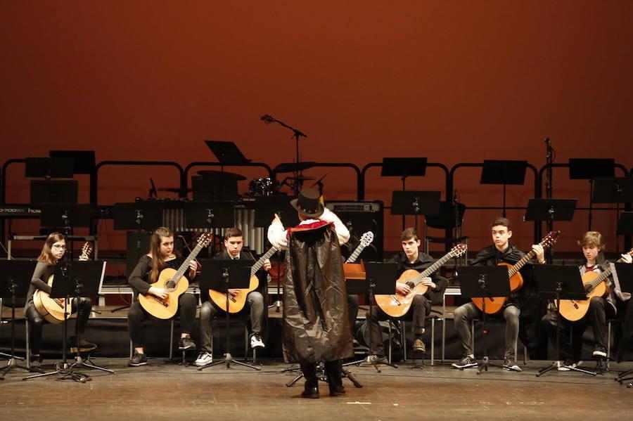Concierto de Carnaval en el Conservatorio de Gijón