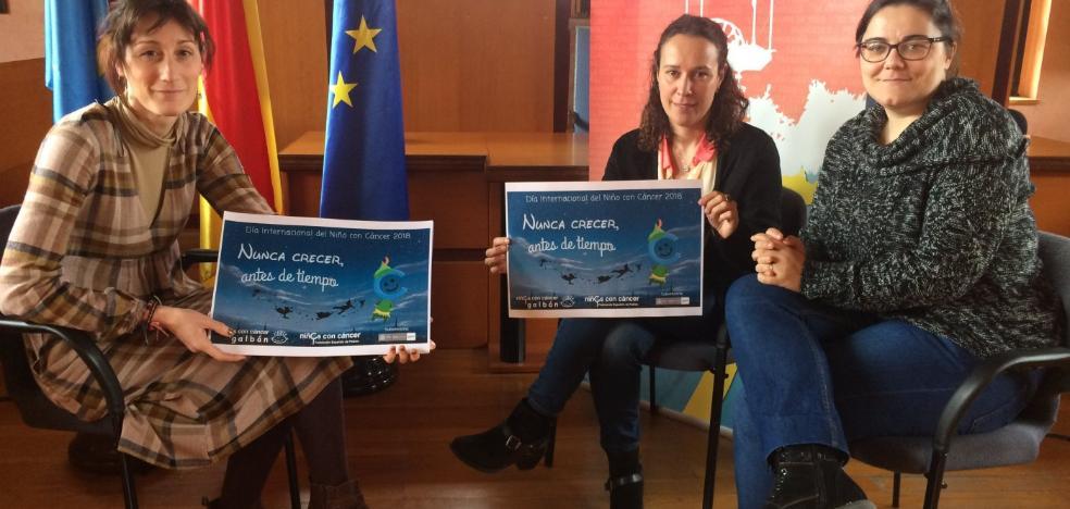 San Martín muestra su apoyo a las familias de niños con cáncer