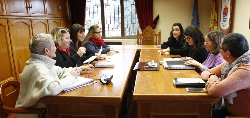 La comarca acuerda secundar la huelga feminista del 8 de marzo