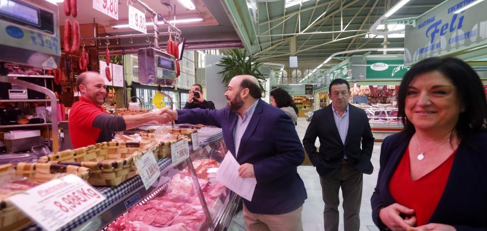 Caunedo propone reinventar El Fontán como un mercado gastronómico