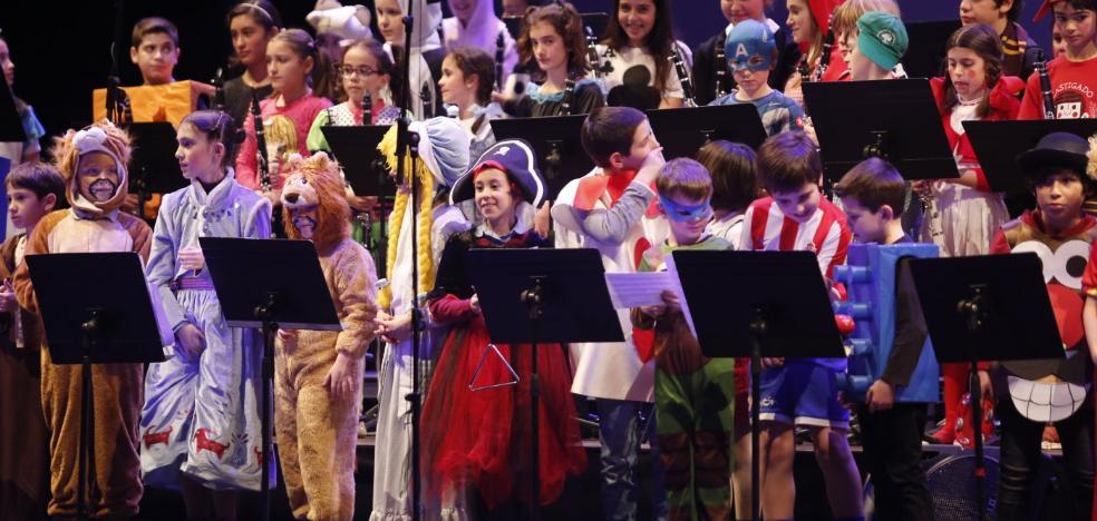 Animado concierto de carnaval del Conservatorio