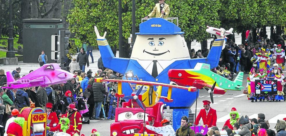Asturias apura la fiesta de carnaval