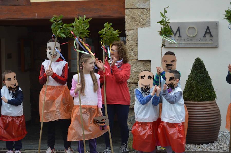 60 niños para la primera clase de la Escuelina de Guilandeiros
