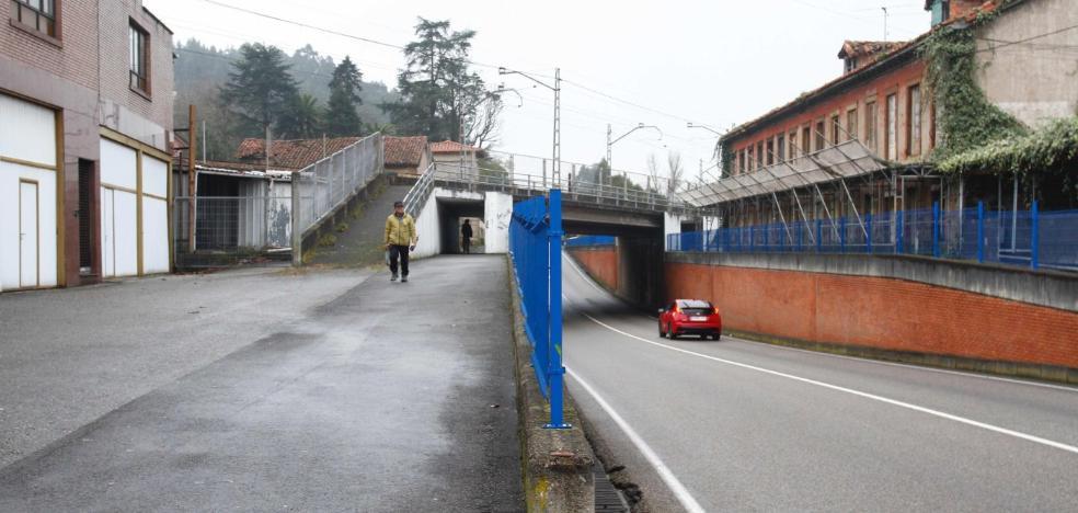 Roban de madrugada el cable del alumbrado del pasadizo de acceso a Cancienes