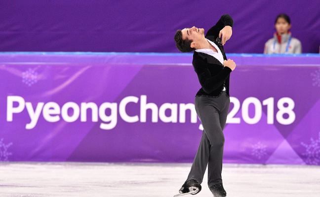 El patinador Javier Fernández apunta a la medalla olímpica en Corea del Sur