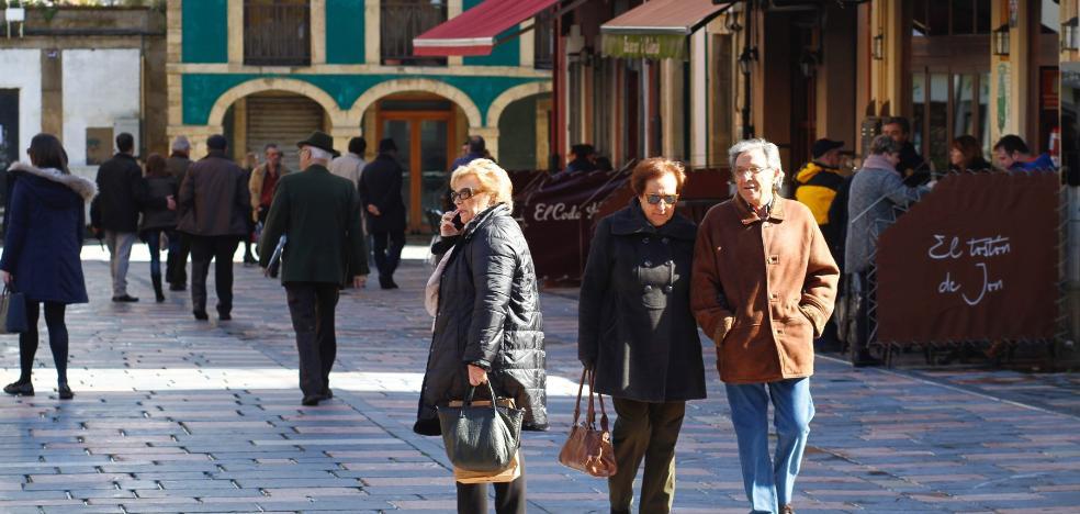 La caída demográfica se agudiza en Avilés