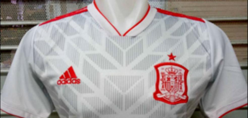 Filtran la segunda camiseta de España