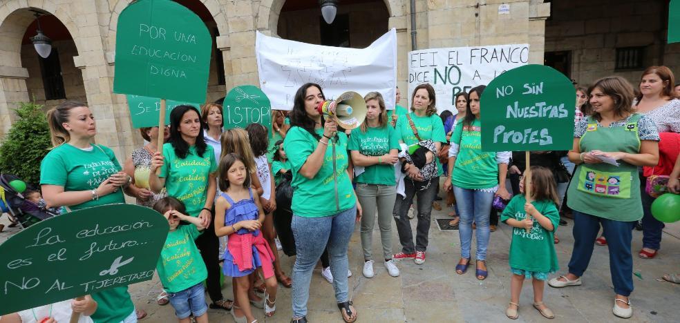 Las educadoras infantiles reclaman que se cumpla el pacto sobre su salario