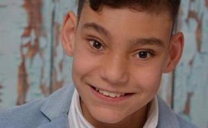El niño cantante Adrián Martín, hospitalizado de nuevo