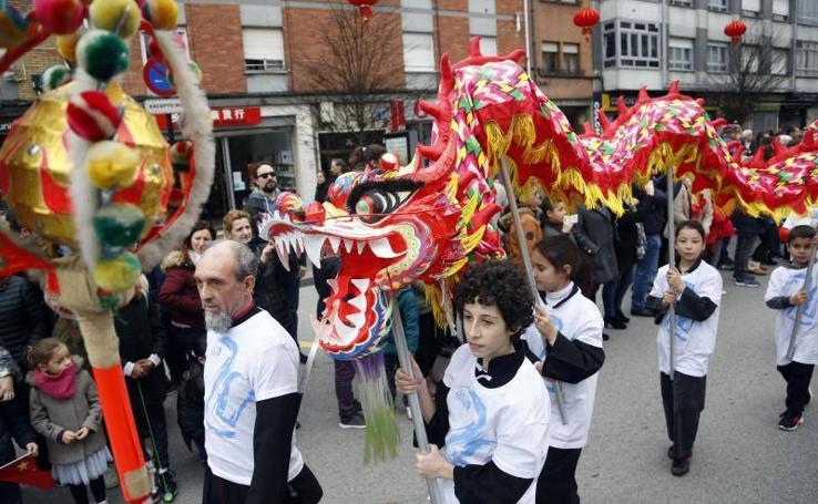 Lugones se convierte en la capital del Año Nuevo chino