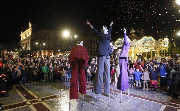 Espléndida inauguración de Feten en Gijón