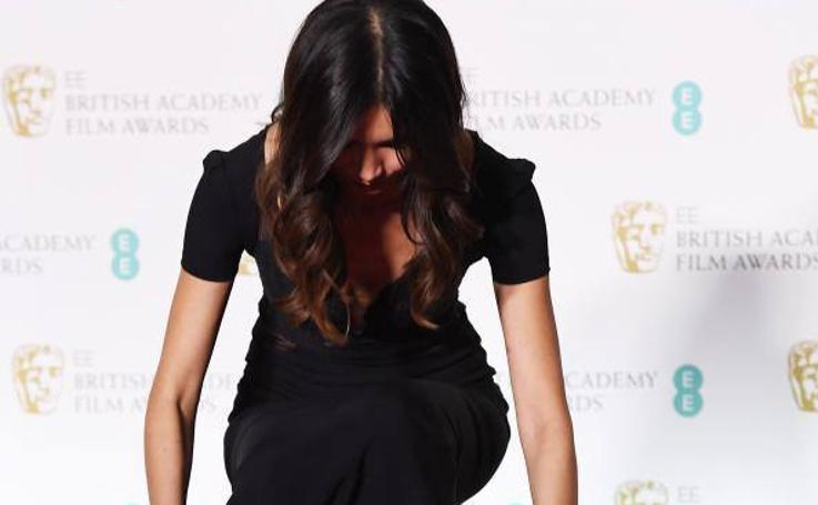 El negro más reivindicativo, protagonista en la alfombra roja de los BAFTA