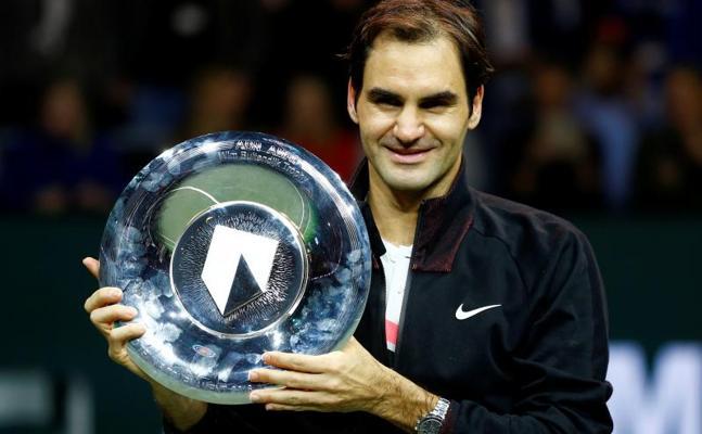 Federer estrena el número 1 ganando el torneo de Rotterdam