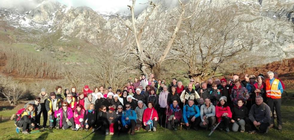 91 peregrinos entre Pendes y Santo Toribio