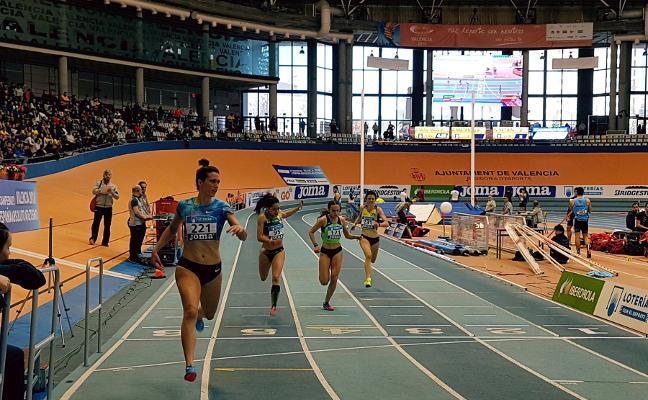 Estela García logra su quinto título nacional en 200 metros