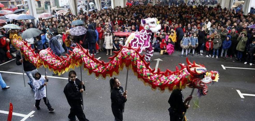 Lugones festeja a lo grande el Año Nuevo chino